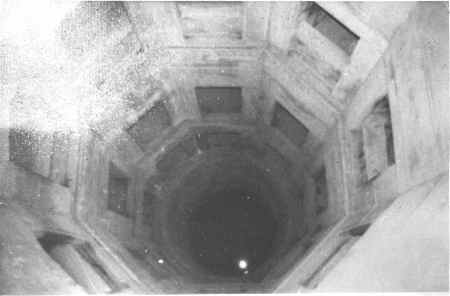 Taj Mahal-The interior water well